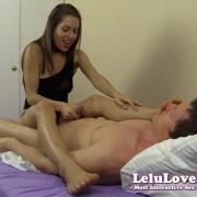 Feet On Face Handjob from Lelu Love